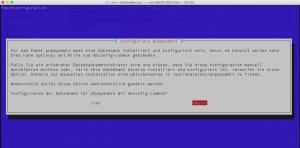 Datenbank für phpMyadmin festlegen
