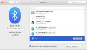 Aufbau der Bluetooth-Verbindung